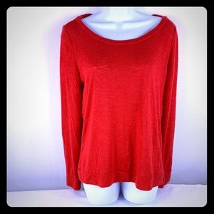 Victoria's Secret Red Sweater Size Small